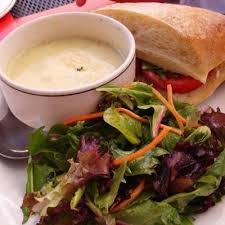 Soup, Salad, Sandwich Combo